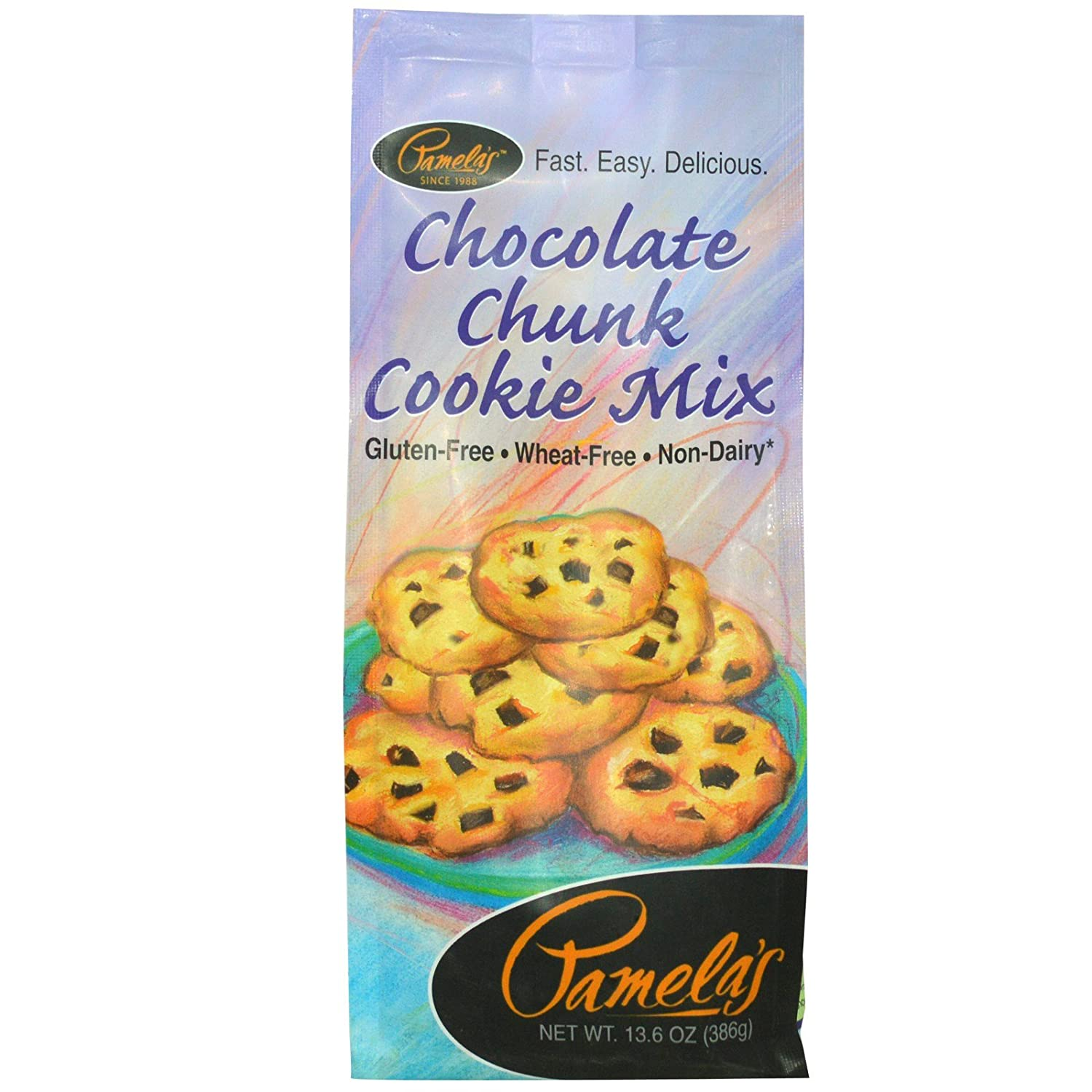 Pamela's NEW before selling ☆ Products Gluten Free Chocolate 13.6 40% OFF Cheap Sale Cookie Mix Chunk