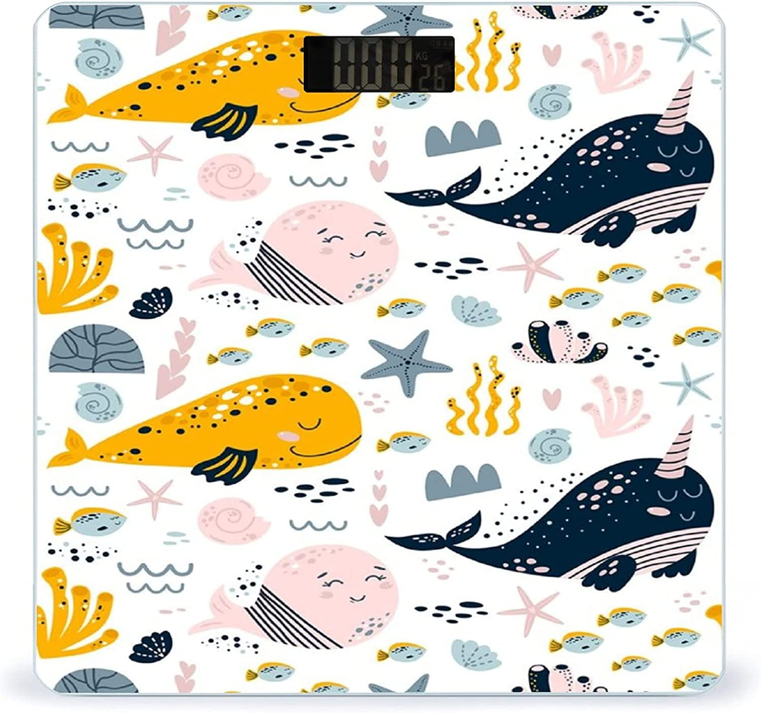 CHUFZSD Cute Animal Baby 2021 model Whale Smart 67% OFF of fixed price Fitness Accurate Highly Sca