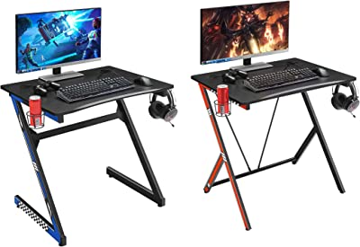 "Mr IRONSTONE 31.5"" Gaming Desk PC Computer Desk & 31.5"" Gaming Desk PC Computer Desk Home Office Student Table"