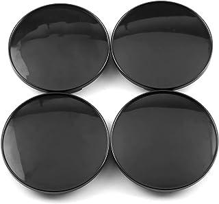 4x 68 mm 61.5mm Nabenkappen NEU schwarz Universal Autozubehör Nabendeckel Nabenabdeckungen Felgendeckel Nabenkappe