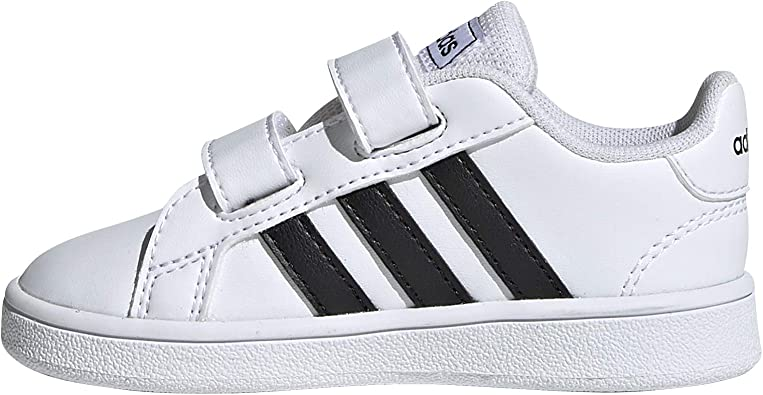 Amazon.com | adidas Unisex-Child Grand Court Tennis Shoe | Sneakers