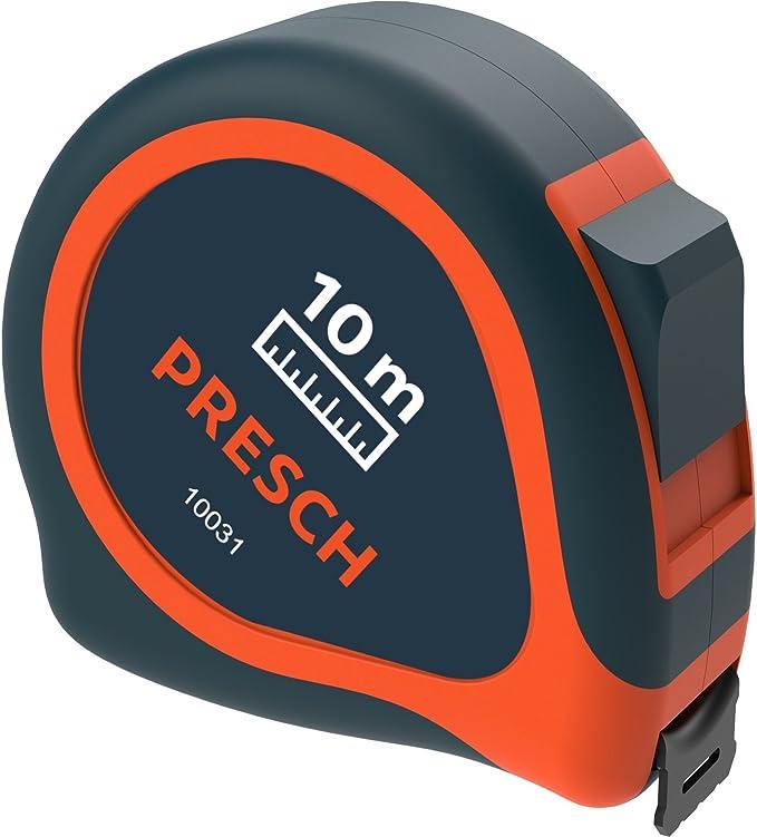 2044 opinioni per Presch metro da 10 m- Robusto flessometro professionale con clip per la cintura