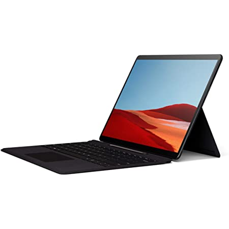 """Microsoft Surface Pro X – 13"""" Touch-Screen – SQ1 - 8GB Memory - 128GB Solid State Drive – Wifi, 4G Lte – Matte Black"""