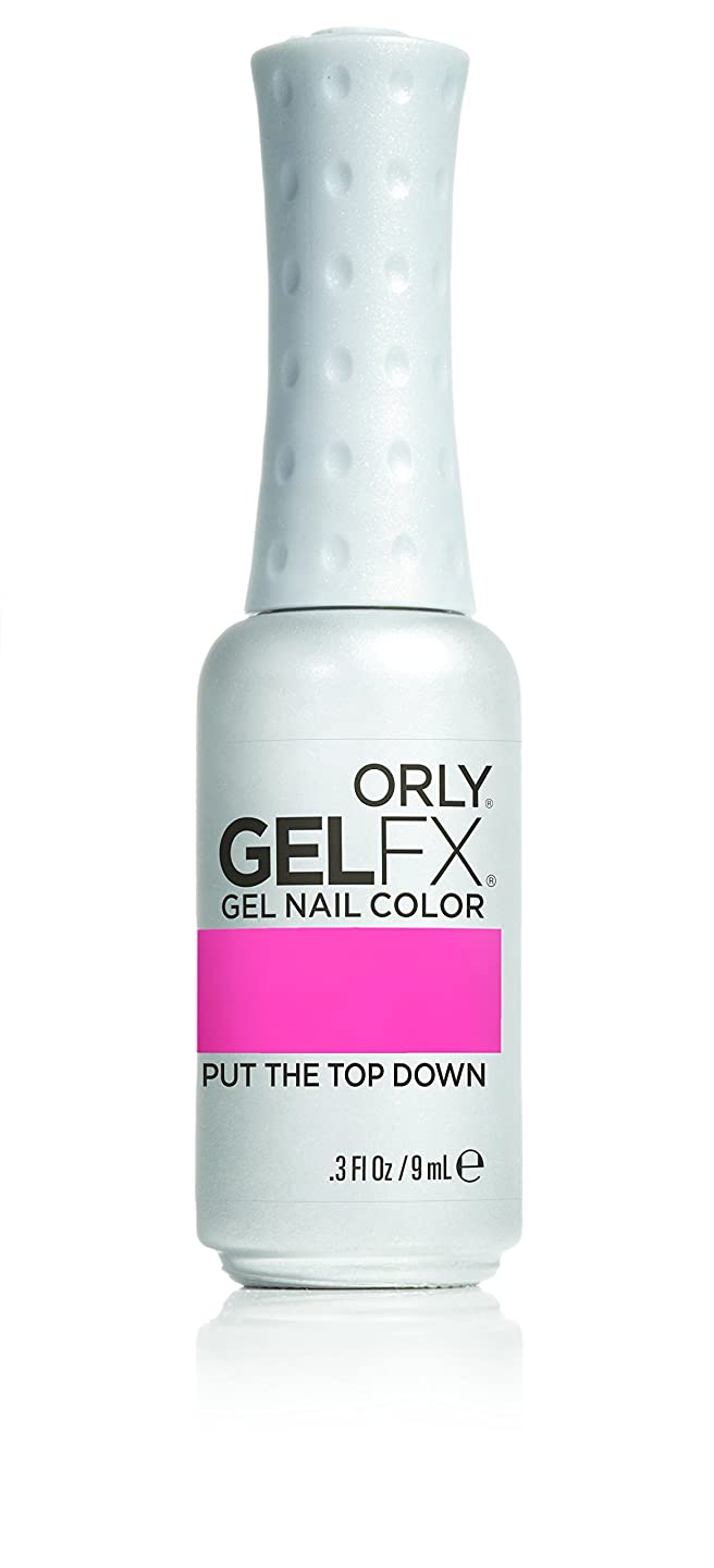 マトリックス公式無意識Orly GelFX Gel Polish - Put the Top Down - 0.3oz/9ml