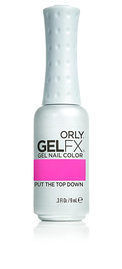 唯物論白菜強化するOrly GelFX Gel Polish - Put the Top Down - 0.3oz/9ml