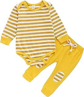 Pijama para beb/é sin Mangas Carolilly de Verano Color Liso para reci/én Nacido
