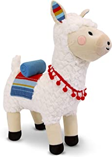 """FAO Schwarz 17"""" Llama Plush Stuffed Animal Toy with LED Lights and Sound, Hug and Pet to Make it Talk, Ultra Soft & Snuggly Doll for Creative & Imagination Play, for Boys, Girls, Children Ages 3 & Up"""