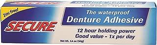 Secure Denture Bonding Cream (Pack of 2)