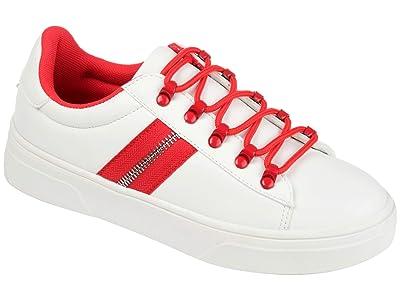 Journee Collection Comfort Foamtm Arden Sneaker (Red) Women