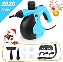 MLMLANT Steam Cleaner- Multi Purpose High Pressure Steamer with 12-Piece Accessories,..