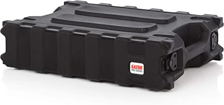 Gator Cases Pro Series Rotationally Molded 2U Rack Case with Shallow 13