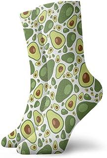Jhonangel, Niños Niñas Locos Divertidos Calcetines con diseño de aguacate Lindos calcetines de vestir de novedad