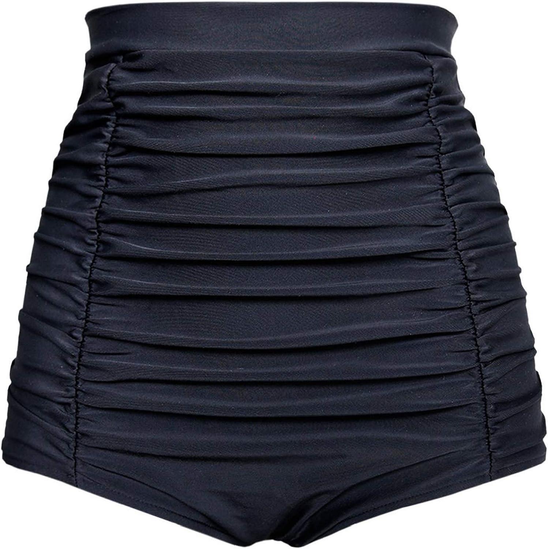 Balasami Women's Retro High Waisted Swimsuit Bottoms Same day shipping Bikini Ruch Genuine Free Shipping