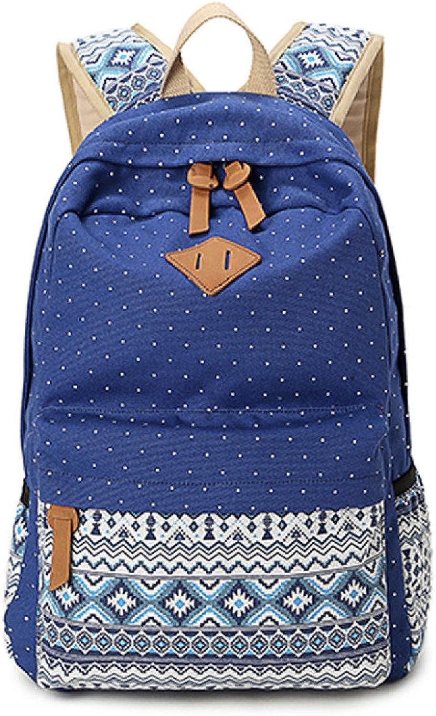 BFMEI Student Taschen Koreanischen Casual Rucksack Leinwand Druck Outdoor-Umhängetasche Tasche Tasche Tasche B078JRW1W3  Sorgfältig gefertigt 1148d9