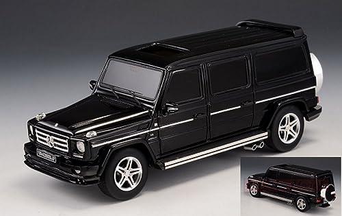 GLM MODELS GLM43203703 MERCEDES G500 (W463) AMG G63 V12 LANG schwarz 1 43 DIE CAST