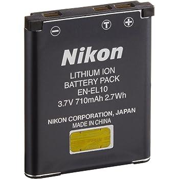 ニコン Li-ionリチャージャブルバッテリー EN-EL10