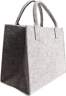 Borsa FELTRO PER IL LEGNO CAMINO LEGNO Borsa Shopping Bag Donna Borsa a tracolla borsa da viaggio