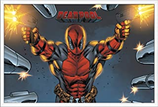 Trends International Marvel Comics - Deadpool - Target Wall Poster, 22.375