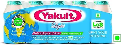 Yakult Light Probiotic Drink Light Bottle 5 X 65 ml