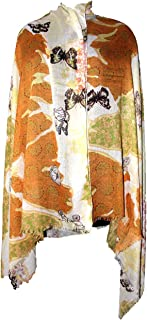 Best butterfly print scarves Reviews