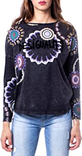 Luxury Fashion | Desigual Womens 19WWTK74GREY Grey T-Shirt | Autumn-Winter 19