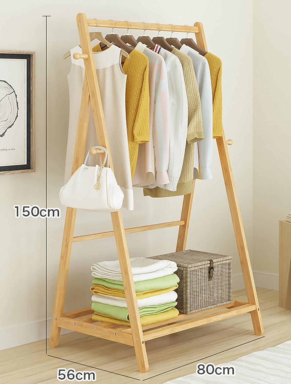 Coat Rack Bedroom Floor Simple Home Multi-Function Clothes Rack Hanger (Size   80 cm)