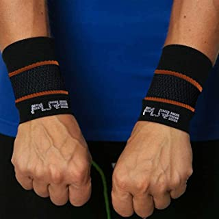 Pure Compression Copper Wrist Support - Best Wrist Sleeve for Carpal Tunnel, Relieve Wrist Pain