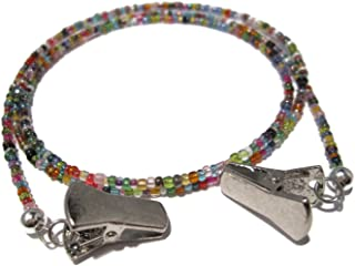 ATLanyards 32 Color Silver Clip Eyeglass Holder, Select Your Size, Glasses Lanyard
