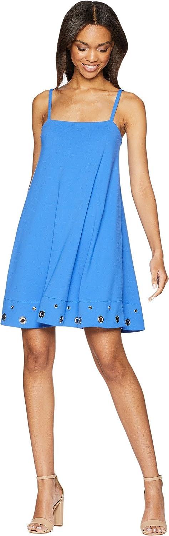 Susana Monaco Womens Grommet Hem Detail Dress