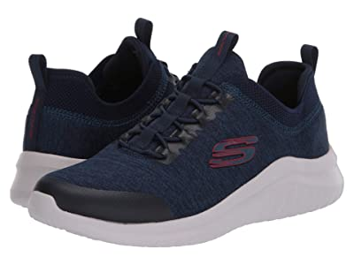 SKECHERS Ultra Flex 2.0 Fedik (Navy/Red) Men