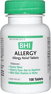 Medinatura, Bhi Allergy, 100 Tablets