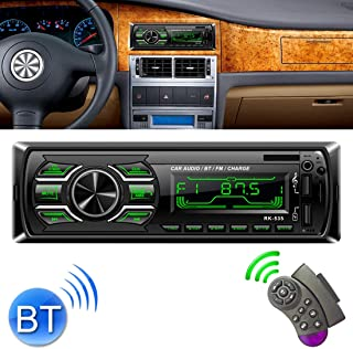 ZJJUN Electronics Video Audio RK-535 Car Stereo Radio MP3 Audio Player with Remote Control, Support Bluetooth Hand-free Ca...