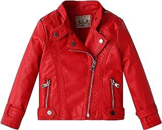 hot sale online aefb7 5d8e7 Amazon.it: giacca ecopelle - Bambine e ragazze: Abbigliamento