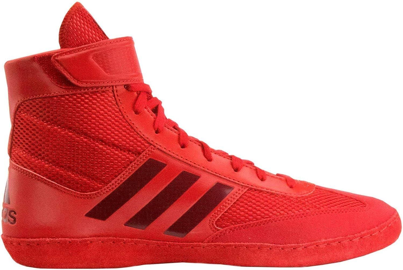 Adidas Combat Speed 5 Men's Wrestling shoes, Red Dark Red, Size 6.5