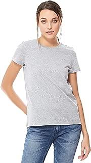 MOVES T-Shirts For Women, Grey Melange, L