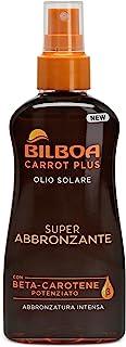 Bilboa Carrot Plus Olio Solare Spray Super Abbronzante, 200ml
