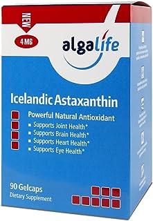 ALGALIFE Astaxanthin Icelandic 4mg, 90 Count