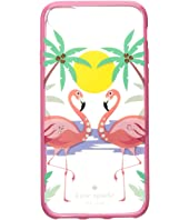 Kate Spade New York - Jeweled Flamingos Phone Case for iPhone 8