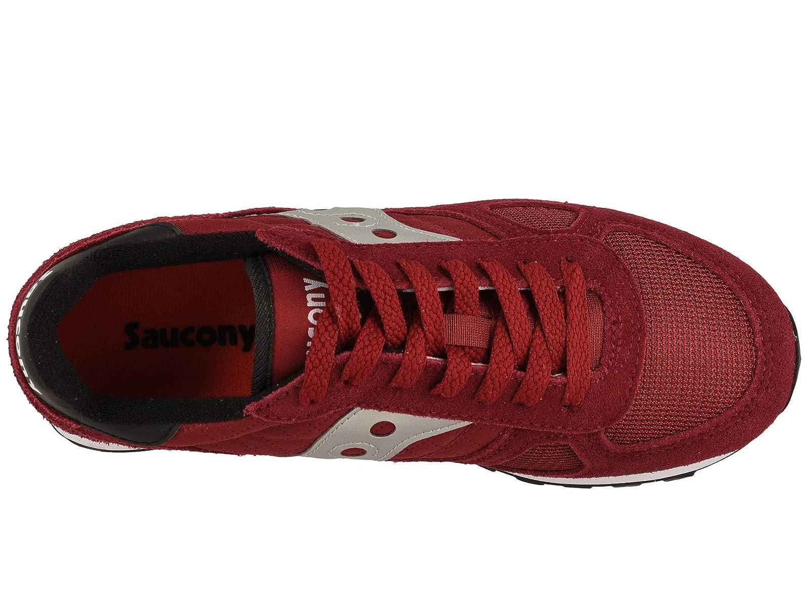Saucony Originals Saucony Originals Women's Shadow Original Sneaker, Light GreyBurnt Orange, 5 M US from Amazon | Real Simple
