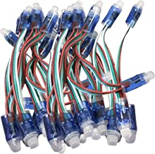 FAMKIT WS2811 12mm Diffuus Digitale RGB LED Pixel Licht Individueel Adresseerbare Ronde LED Pixels Module IP68 Waterdichte...