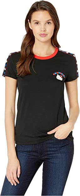 Converse x Hello Kitty Short Sleeve Tape Tee