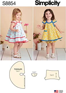 Easy Pinafore Dress Pattern