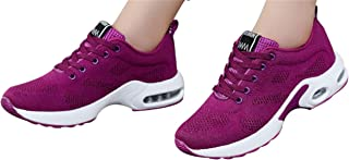 Gyoume Sports Shoes Women Slip On Shoes Running Walking Shoes Student Mesh Shoe
