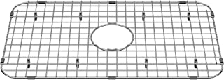 American Standard 8432000.075 Grid for Delancy 30-inch Cast Iron Kitchen Sinks, Stainless Steel
