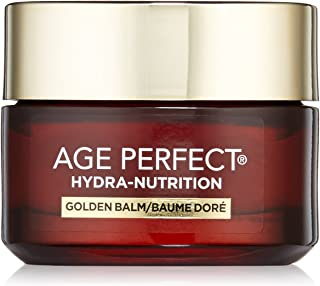 L'Oréal Paris Skincare Age Perfect Hydra-Nutrition Golden Balm Moisturizer for Face, Neck and Chest, Formulated with Calcium and Precious Oils, 1.7 oz.