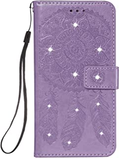 Simple Flip Case Fit for iPhone 11 Pro Max, purple Leather Cover Wallet for iPhone 11 Pro Max