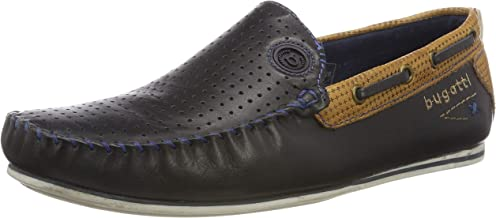 Bugatti Men's Benjy Leather Boat Shoes