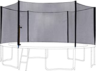ExacMe Trampoline Replacement Enclosure Set Outside Net, Poles and Hardware T-Series 6180 N008-N016