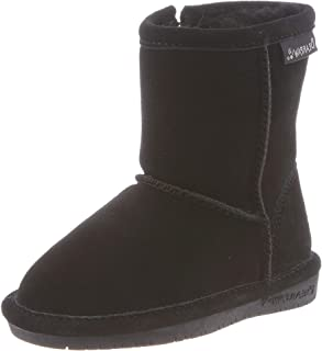 BEARPAW Unisex-Child Emma Toddler Zipper Mid Calf Boot