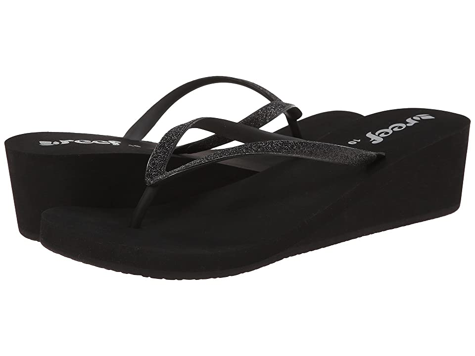 Reef Krystal Star (Black/Black) Women